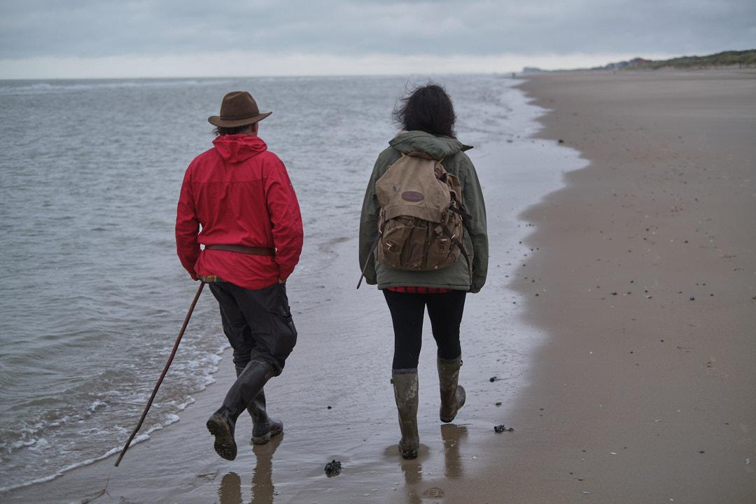 hike aan zee